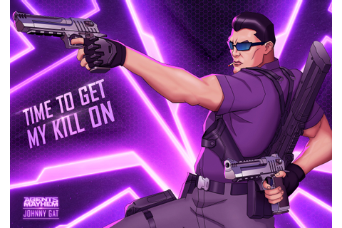 Guess Who's Back? Gat's Back In Agents Of Mayhem! - The ...