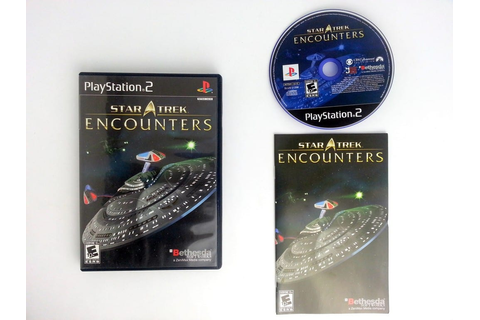 Star Trek Encounters game for Playstation 2 (Complete ...