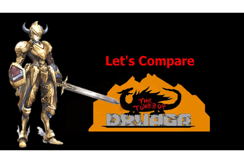 Let's Compare ( The Tower of Druaga ) - YouTube