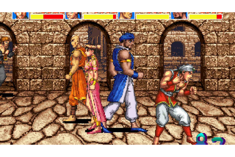Arabian Fight arcade 4 player Netplay 60fps - YouTube