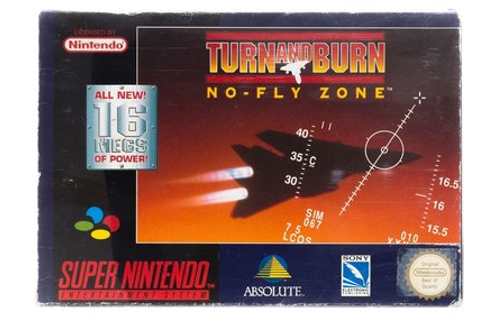 Turn and Burn No Fly Zone - Super Nintendo [SNES] Game ...