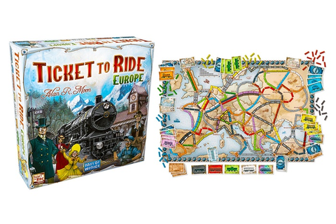 Ticket to Ride Europe Board Game | Groupon