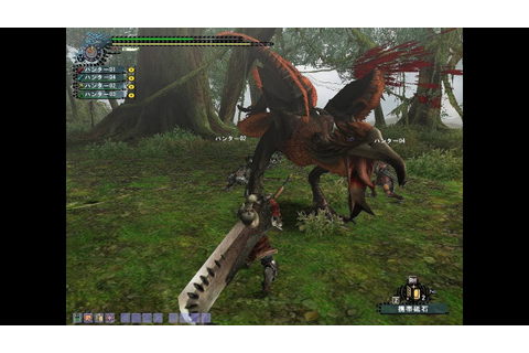 Monster Hunter Gameplay PS2 - YouTube