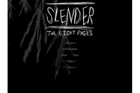 Download Slender: The Eight Pages - My Abandonware
