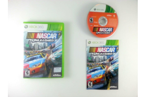 NASCAR Unleashed game for Xbox 360 (Complete) | The Game Guy
