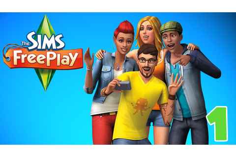 "The Beginning!! ""Sims FreePlay"" Ep.1 - YouTube"