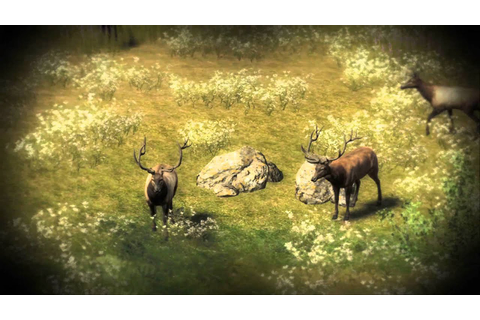 The Hunter pc game - 6 Bull elk group HD 1080p - YouTube