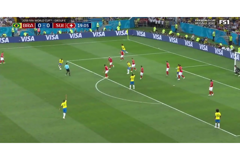 Watch Coutinho score the first goal for Brazil at the 2018 ...