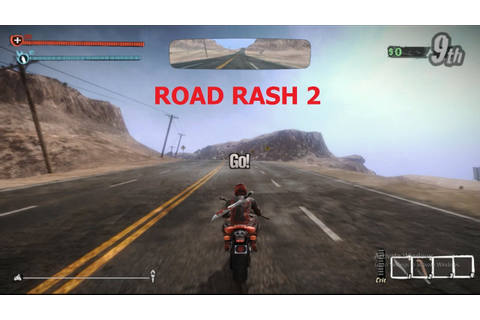 How to download road rash 2 game for pc - YouTube