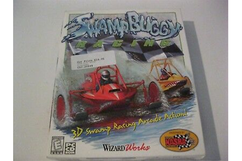 Swamp Buggy Racing new PC game CD-ROM Wizard Works 1999 ...