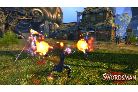 Image Gallery swordsman game