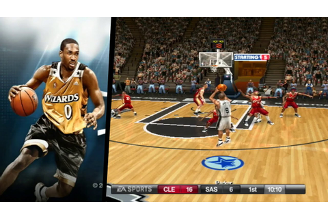 NBA Live 08 ... (Wii) - YouTube