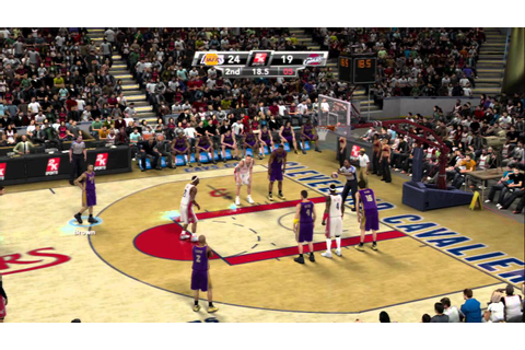NBA 2K9 - Lakers vs Cavs - YouTube