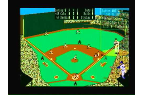 1969 Cubs @ 1967 Red Sox Earl Weaver Baseball Amiga - YouTube