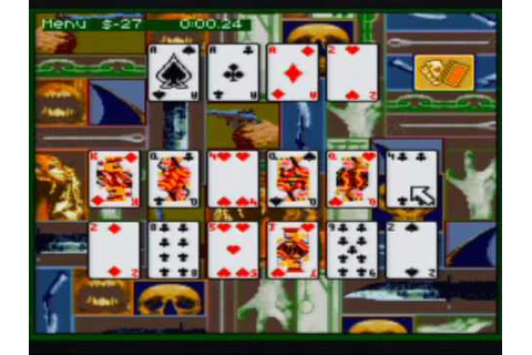 Super Solitaire Game Sample - SNES/SFC - YouTube