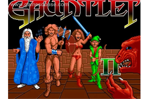 Gauntlet II 1980s arcade game title card | 80s | Pinterest ...