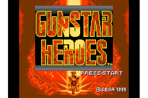 Game Gear Longplay [048] Gunstar Heroes - YouTube
