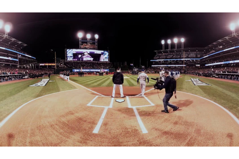 VR 360: World Series Game 1 starting lineups announced ...