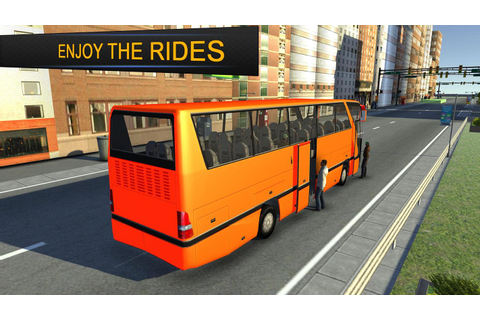 City Bus Simulator 3d 2018: Coach Bus Driving game for ...