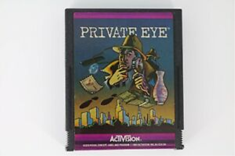 GAME ONLY, Private Eye (Activision) | eBay
