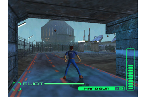 Blue Stinger for the Dreamcast