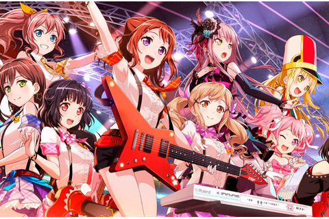 BanG Dream! Girls Band Party! is one of the best rhythm ...