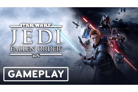 Star Wars Jedi: Fallen Order Gameplay Demo - E3 2019 - YouTube