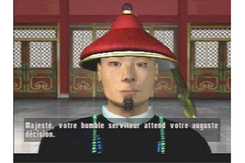 Test Chine : Intrigue à la Cité Interdite sur PS1 du 15/10/1999