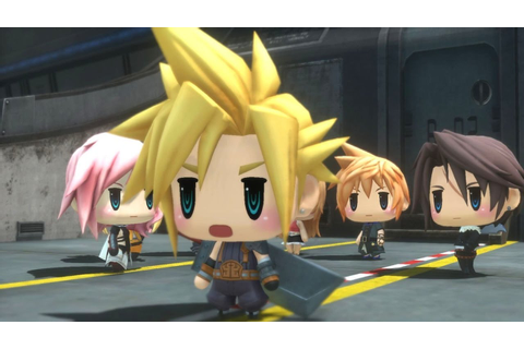 World of Final Fantasy All Cutscenes (Game Movie) 1080p HD ...