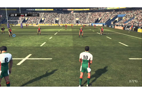 Rugby Challenge 2 - England vs. Wales Gameplay [HD] - YouTube
