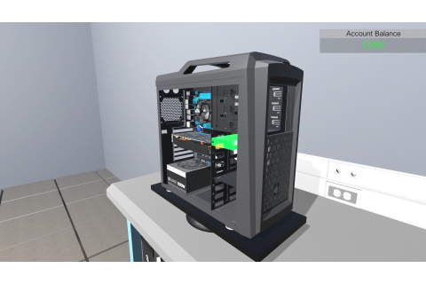 PC Building Simulator Download Free PC + Crack - Crack2Games