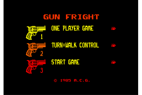 Download Gunfright (Amstrad CPC) - My Abandonware