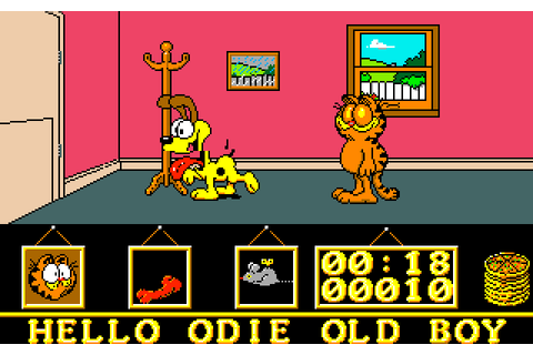 Garfield - Big, Fat, Hairy Deal | Top 80's Games