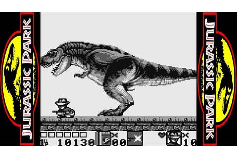 Jurassic Park Part 2: The Chaos Continues - Game Boy ...