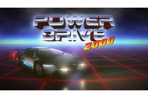 Power Drive 2000 Pre-Alpha Teaser Trailer - YouTube