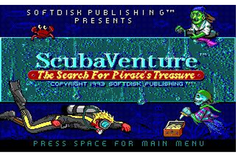ScubaVenture Download (1993 Arcade action Game)