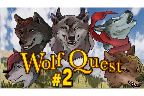 Wolf Quest #2 - Puppy Power!! (Multiplayer Gameplay) - YouTube