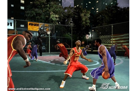 AND 1 Streetball - IGN