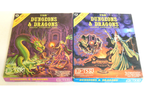 Dungeons & Dragons Basic and Expert Rules Box Sets | DA ...