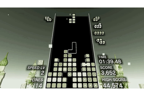 Tetris Effect Has An Amazing Throwback Game Boy Level