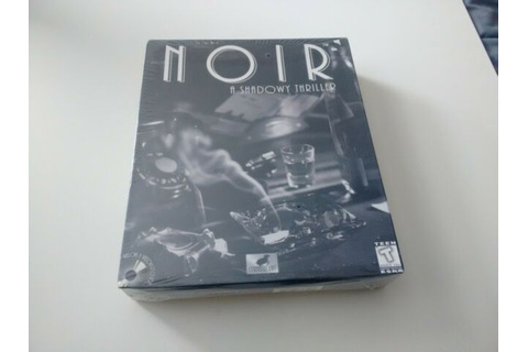 Noir: A Shadowy Thriller - Cyberdreams RARE PC Factory ...