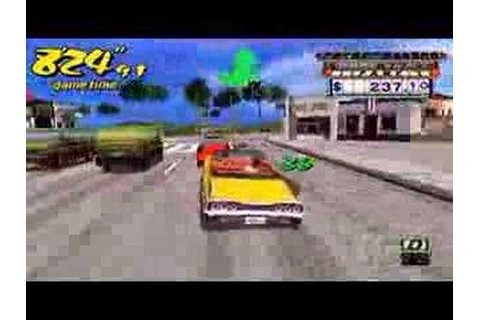 Crazy Taxi Fare Wars (Gameplay) [PSP] - YouTube
