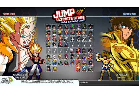 JUMP ULTIMATE STARS (Goku, Naruto, Seiya, Luffy, Aizen) by ...