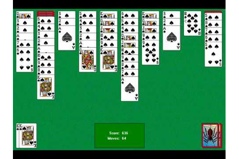 Let's Play Spider Solitaire - YouTube
