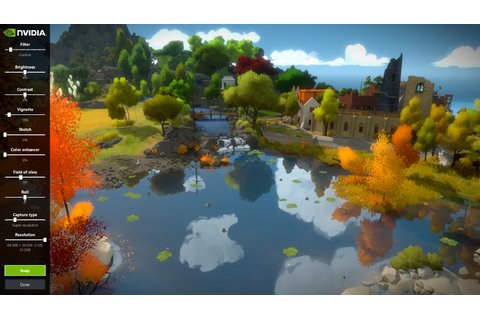 The Witness Gets NVIDIA Ansel Support, Features Detailed