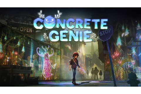 Concrete Genie Game | PS4 - PlayStation