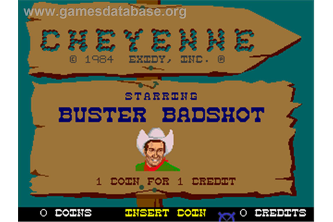 Cheyenne - Arcade - Games Database