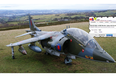 eBay sale: The Harrier jump jet for £69,999 | Daily Mail ...