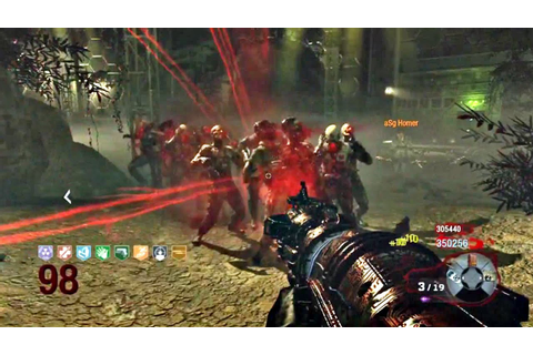 [RECORD DU MONDE] Call of duty Black Ops Zombies Gameplay ...