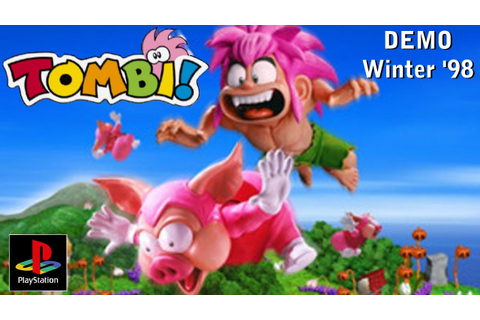 Let's Play Tombi (Tomba) PS1 Demo (Winter '98 Disc) - YouTube